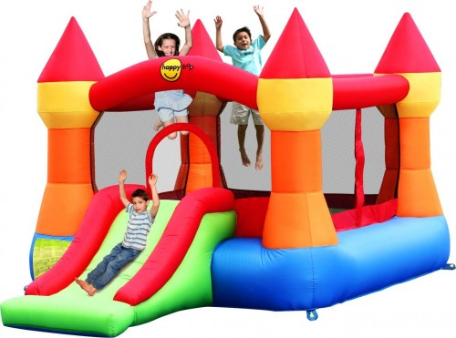hire children's party entertainers in Barcelona bouncy castles